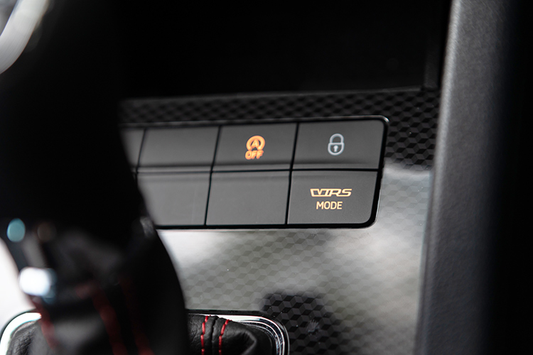 octavia rs mode button