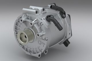 starter motor 48-volt belt-driven