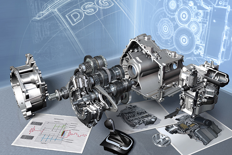 volkswagen 7-speed dual-clutch gearbox