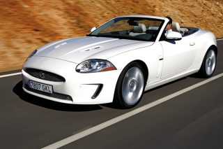 xkr convertible driving