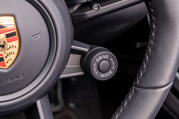 911 carrera s cabriolet driving mode dial