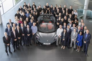 McLaren 600LT 20,000th car