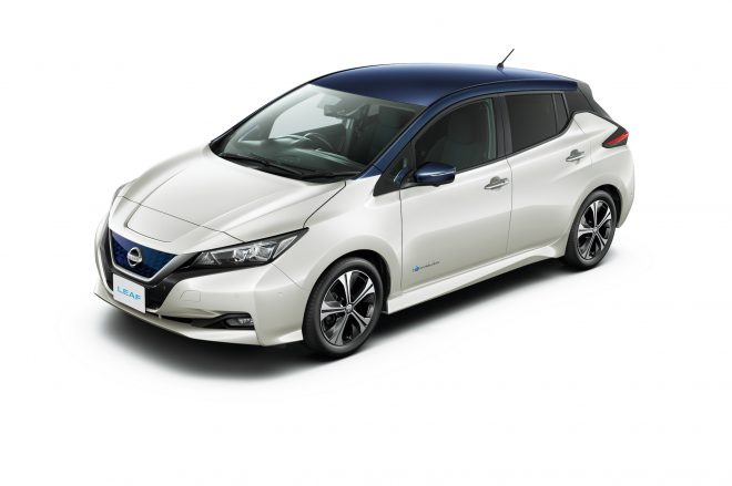 Nissan Leaf top