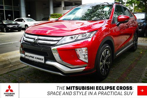 The Mitsubishi Eclipse Cross: space and style in a practical SUV
