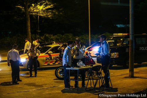 anti-drink driving operation traffic police