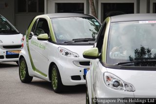 electric cars singapore