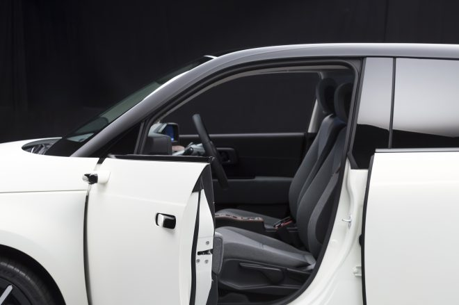 Honda e camera