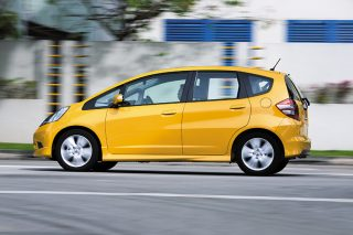 honda jazz driving