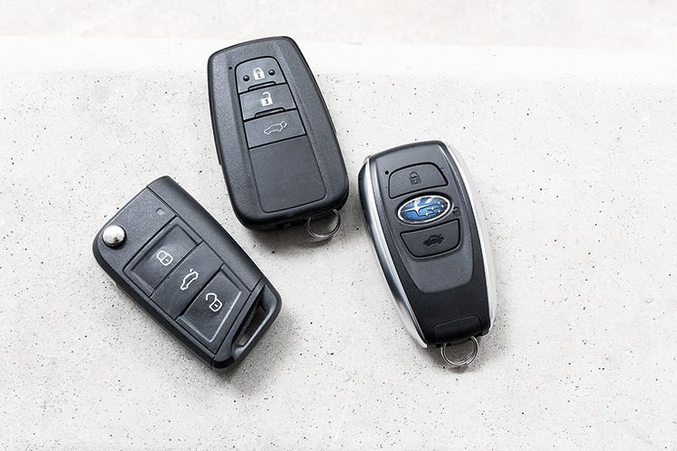 Skoda Karoq, Toyota RAV4 and Subaru Forester – Keys