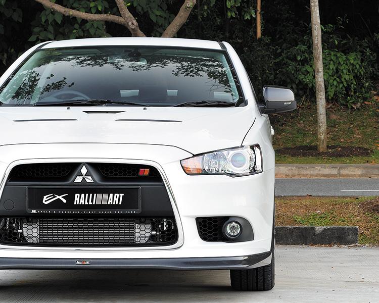 Mitsubishi Lancer Ralliart >> Mitsubishi Lancer Ex Ralliart Review Driven In Singapore