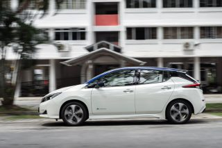 Nissan Leaf review: Zippy performance