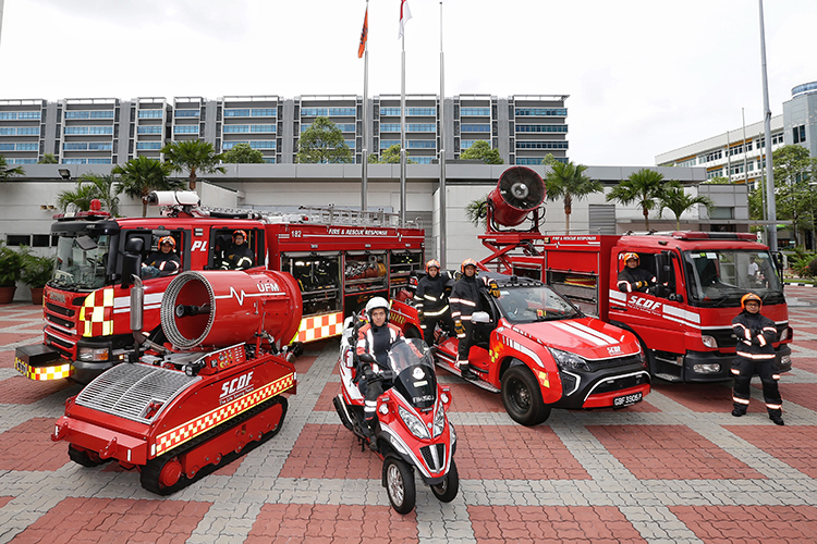 scdf emergency vehicles