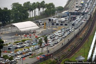 vesak day weekend traffic