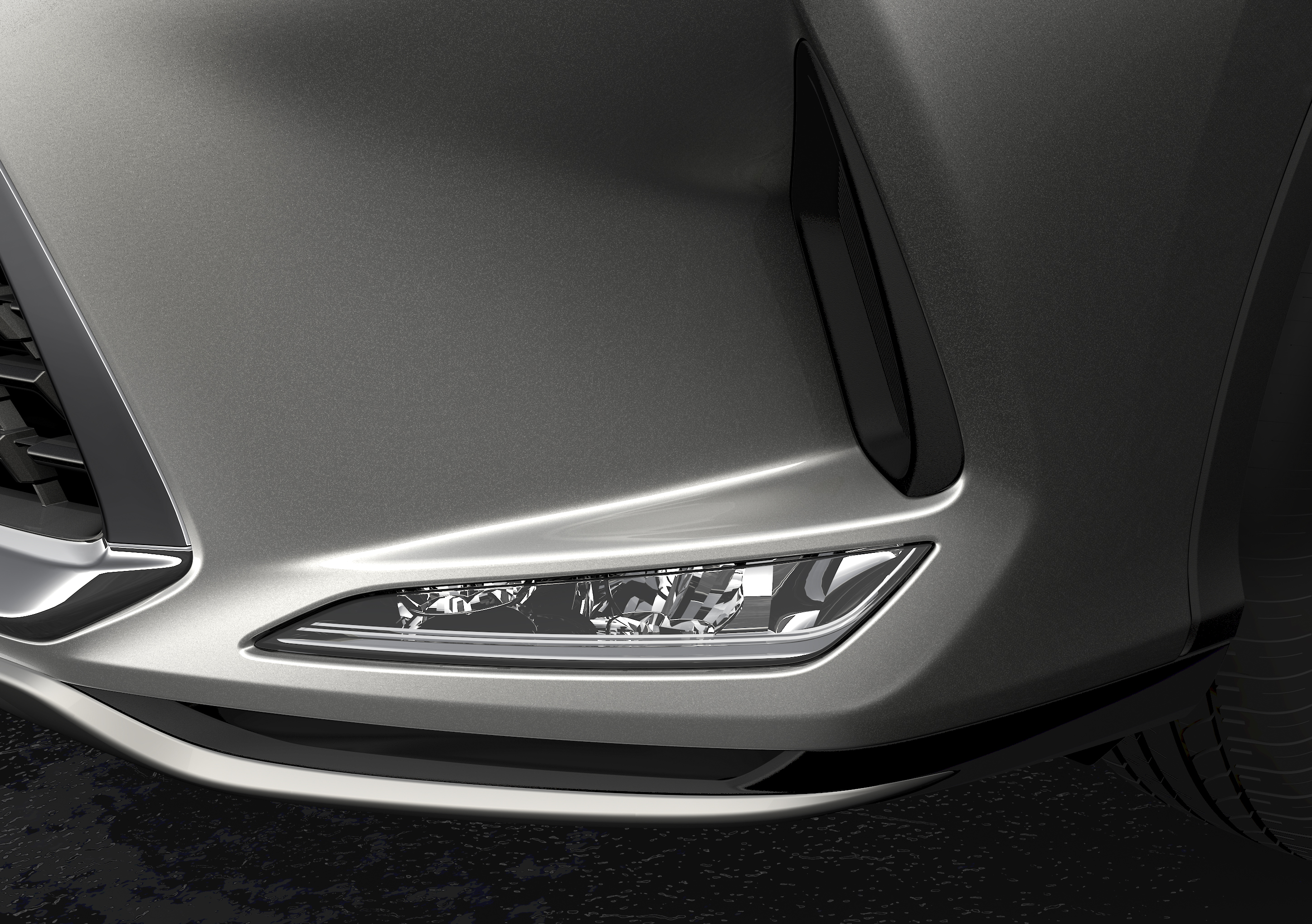 New Lexus RX gets super-cool BladeScan adaptive high beams