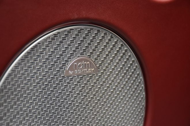 Naim audio Bentley Bentayga Speed