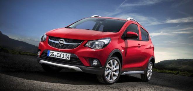 Opel Karl Rocks Vinfast Fadil
