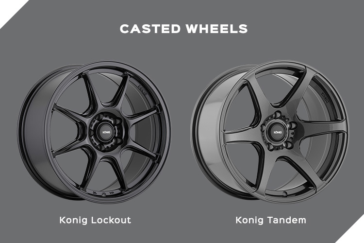 Casted Wheels