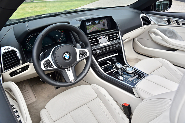 bmw 8 series convertible cockpit