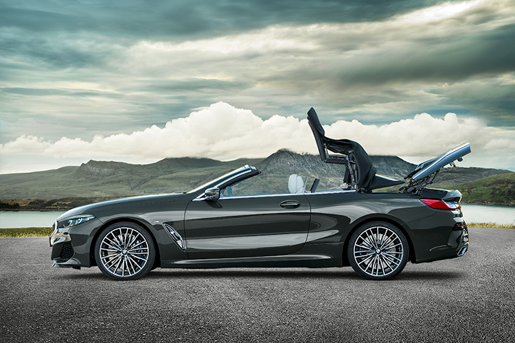 bmw 8 series convertible roof