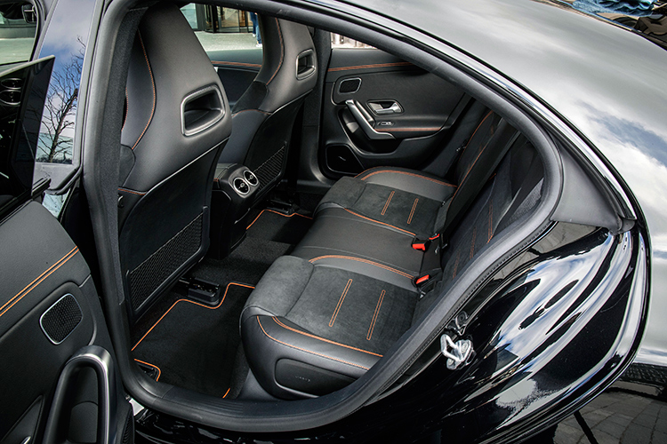 cla200 backseat