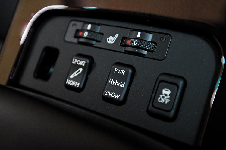 gs450h driving modes
