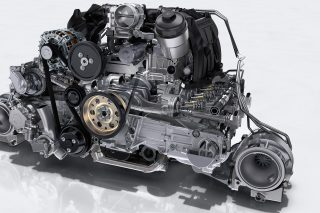 flat six engine