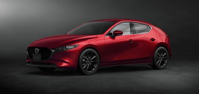 new Mazda 3 hatchback