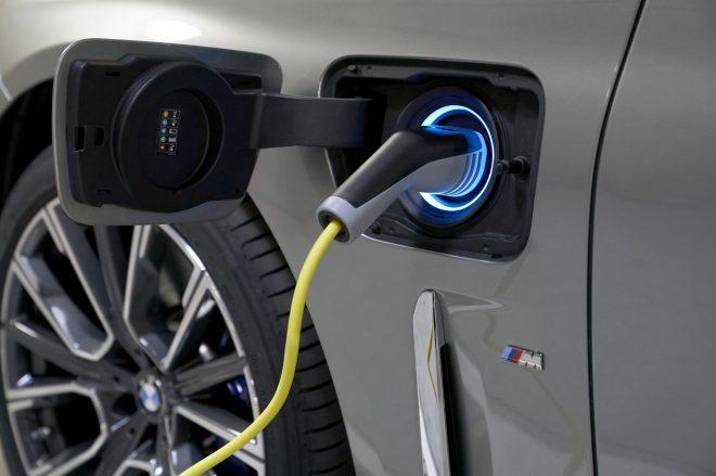 BMW plugin hybrid.