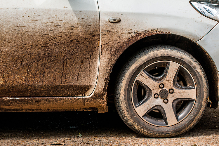 can dirt protect your car