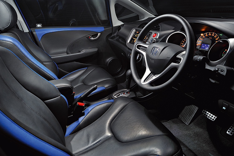 honda jazz 1.3 interior