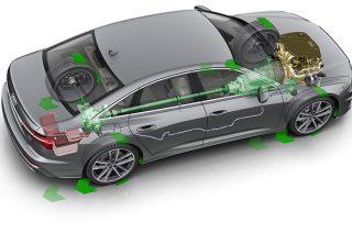 mild hybrid system audi a6 sedan