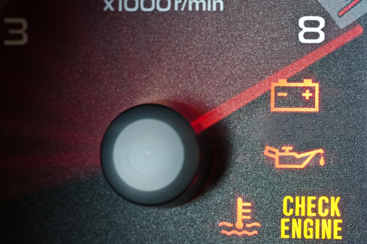 what's causing the check engine light to appear