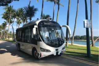 autonomous minibus