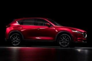Mazda electric vehicle