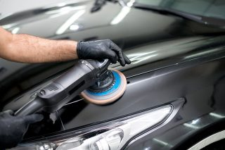 car polishing machine or hand