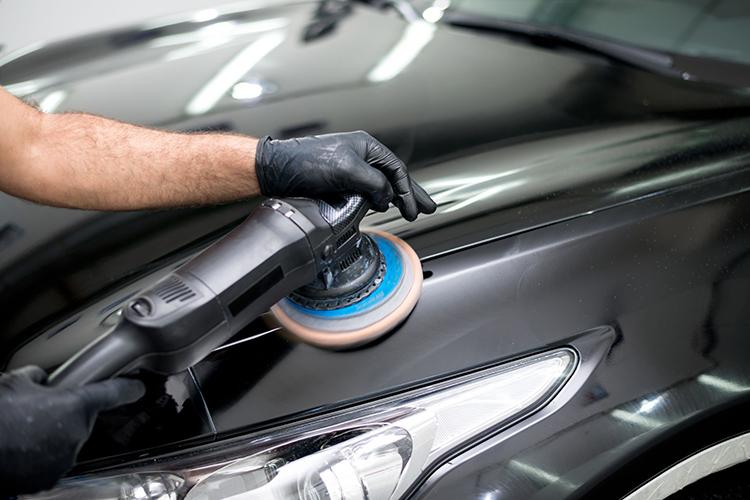 car polishing machine or hand