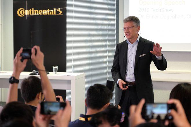 Continental chairman Dr Elmar Degenhart