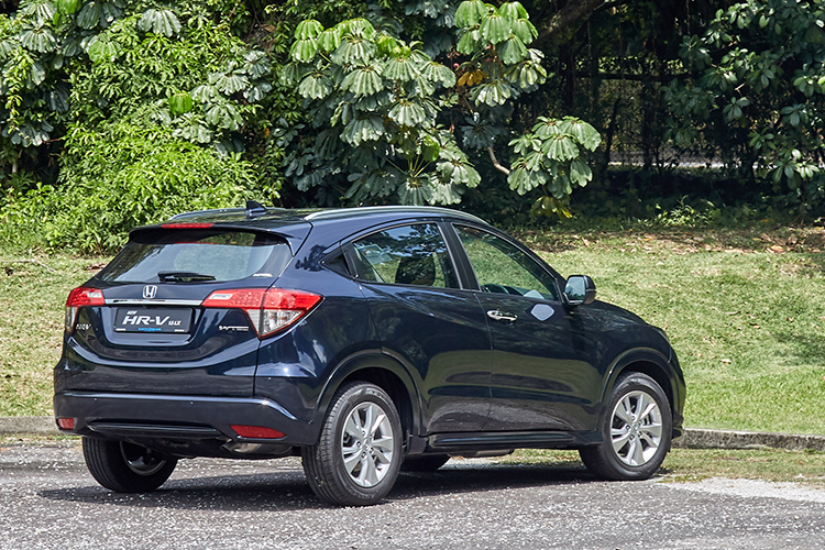 honda hr-v rear