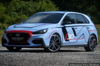 hyundai i30 n performance pack front