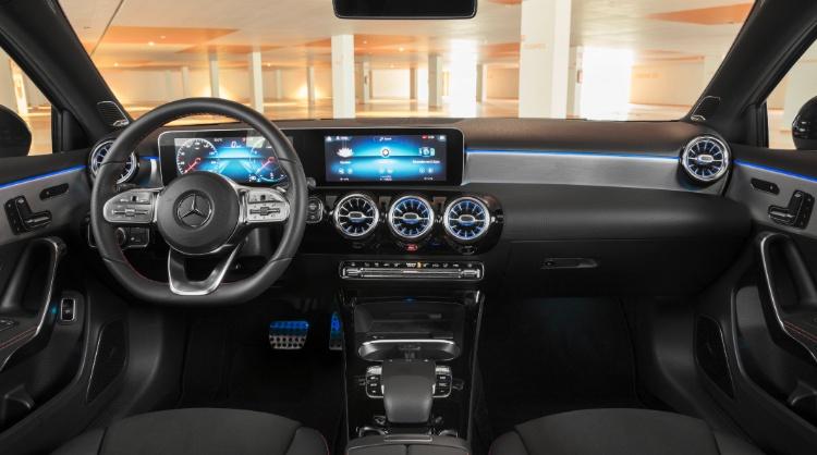 mercedes-benz a-class sedan interior