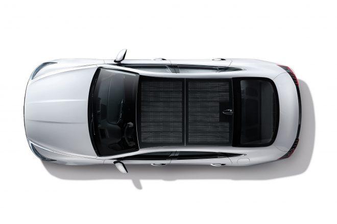Hyundai solar panel