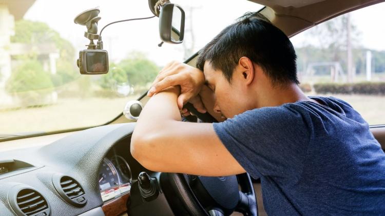 road trip dangers falling asleep