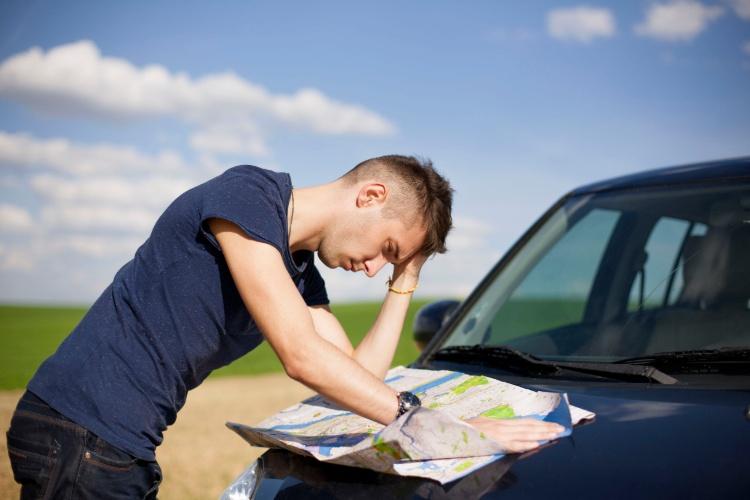road trip dangers getting lost