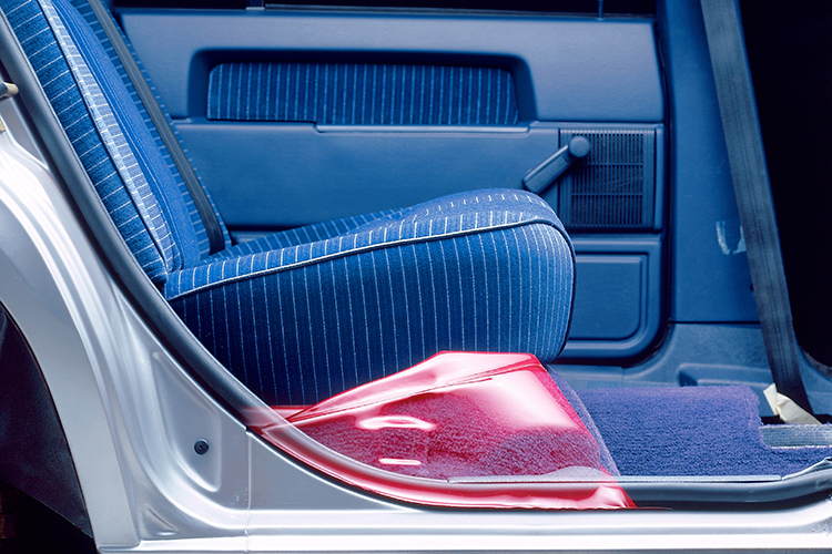 anti-submarining seats from Volvo