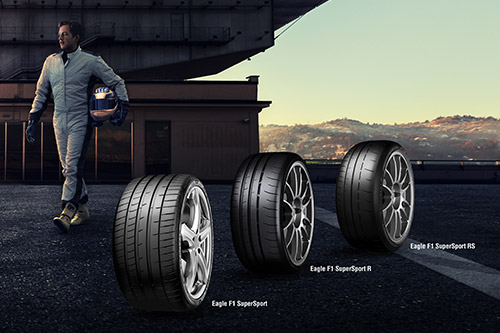 Goodyear Eagle F1 tyres deliver cutting-edge performance