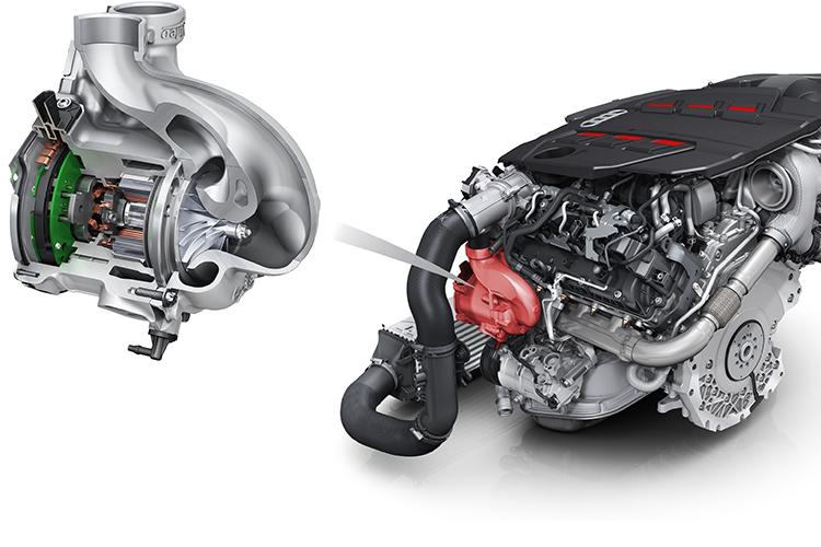 48-volt supercharger Audi S6