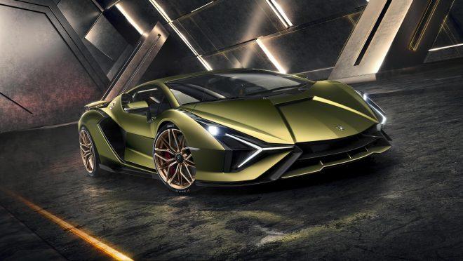 Lamborghini Sian powertrain