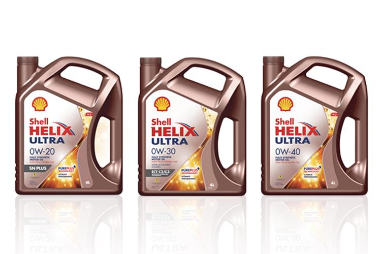 Shell engine oils