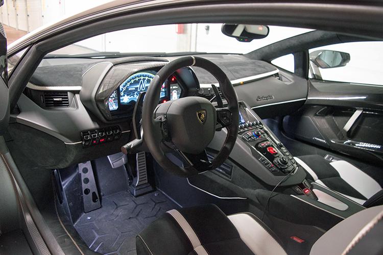 lamborghini aventador svj cockpit