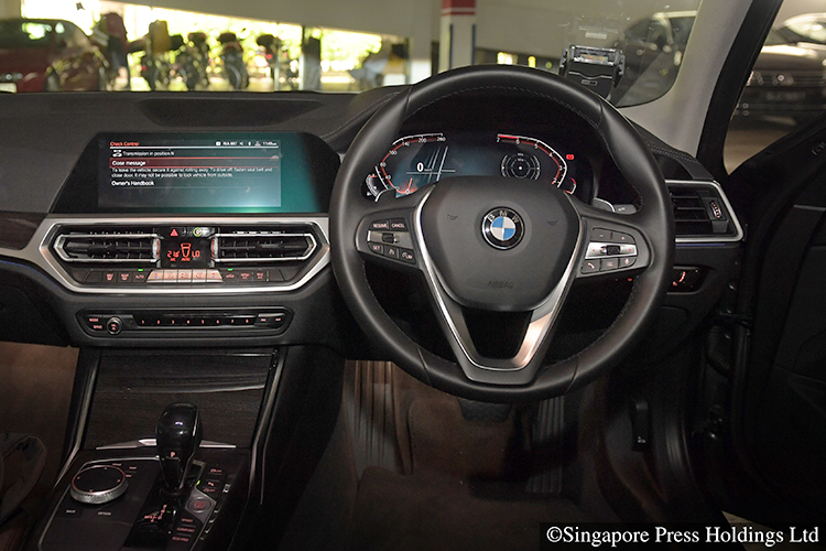 bmw 330i luxury interior